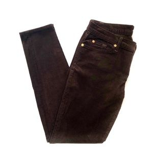 Pants - 7 For All Mankind The Skinny Corduroy Jeans Sz 30
